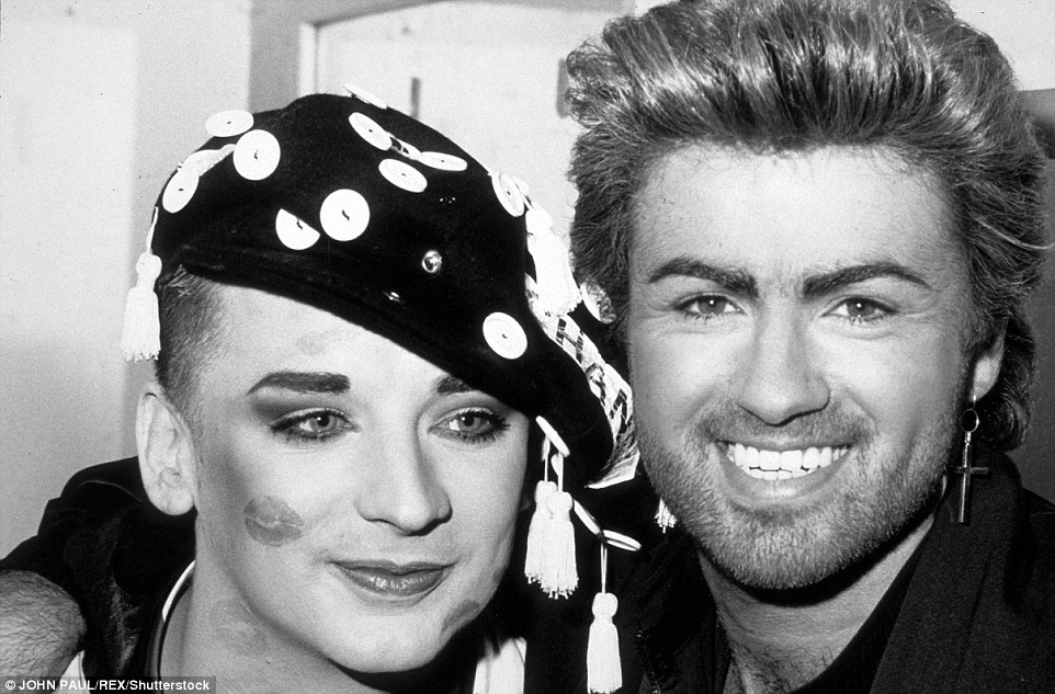 george michael boy george  26-12-2016